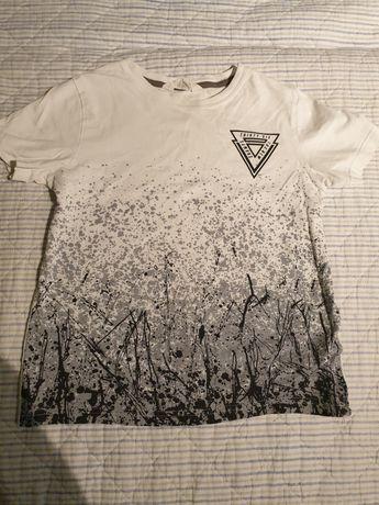Bluzka HM 140 biala,czarna,szara