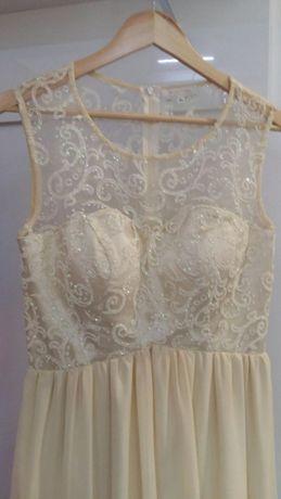 Sukienka pretty women długa suknia wieczorowa koronkowa
