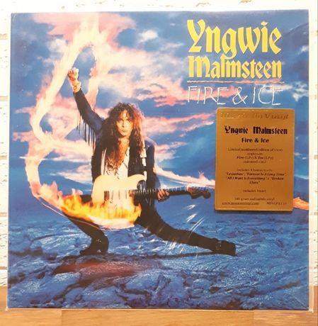 Yngwie Malmsteen - Fire & Ice - 2xLP - Orange & Blue Vinyl - Новый