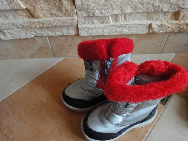 Buty zimowe chłopięce rozm.22,26,31