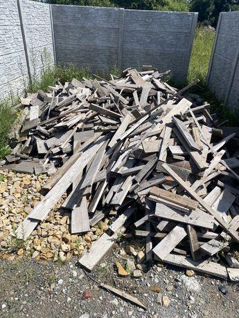Drzewo (odpad po deskach szalunkowych)