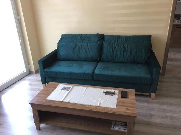 Kanapa/sofa butelkowa zieleń