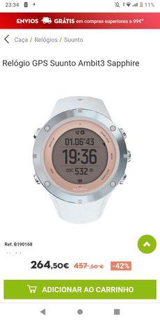 Relógio GPS suunto ambit3
