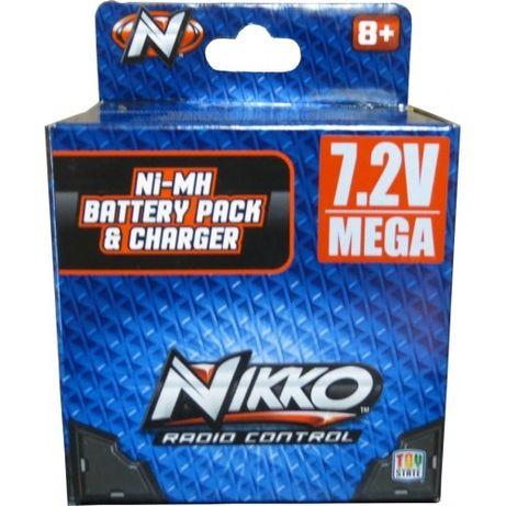 Akumulator, pakiet NiMH 7 2v 700mah, ładowarka nikko