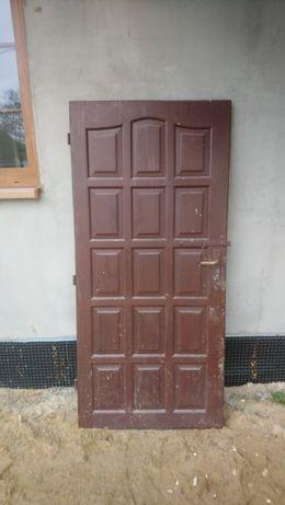 Drzwi na budowę 90 cm