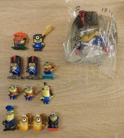 Minionki figurki z bajki