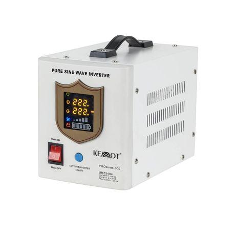 Awaryjne źródło zasilania Kemot UPS z przebiegiem sinusoidalnym 300W