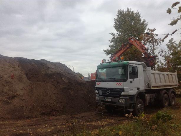 Ziemia humus piach na podniesienie Łochów Jadów Urle Ostrówek Baczki