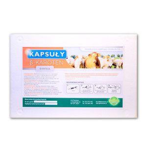 Kapsuły β-karoten 92g- wpływa płodność u krów,suplementacja