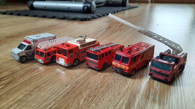 Resoraki matchbox straż pożarna ambulans