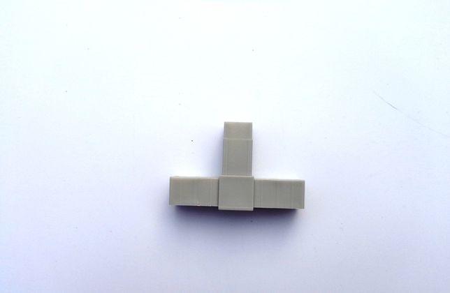 """Соединитель для алюминиевого профиля 20х20х1,5мм """"Т-образный"""""""