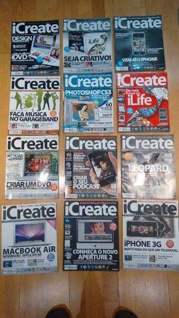 14 revistas iCreate e 5 da MacGuia