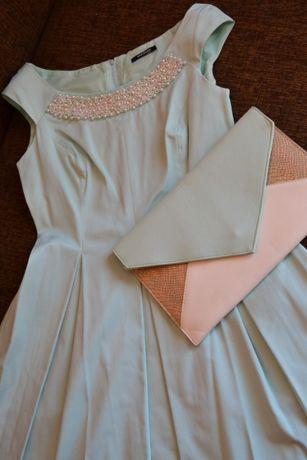 Sukienka miętowa Orsay rozm.38/40