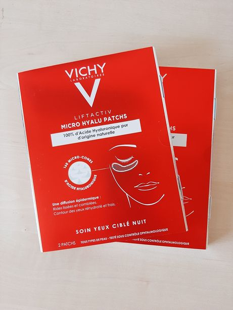 Патчи с гиалуроновой кислотой Liftactiv Vichy Лифтактив Виши. Vichy