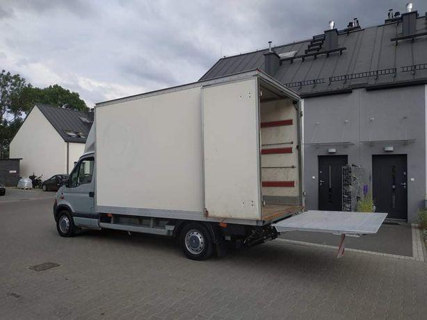 Przeprowadzki transport do 3,5t auto kontener z windą bagażówka