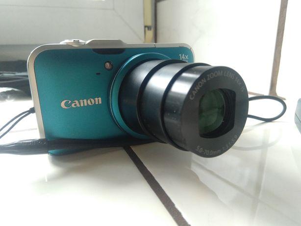 Aparat Canon Power Shot sx230 HS, 14x zoom optyczny, GPS, full HD,