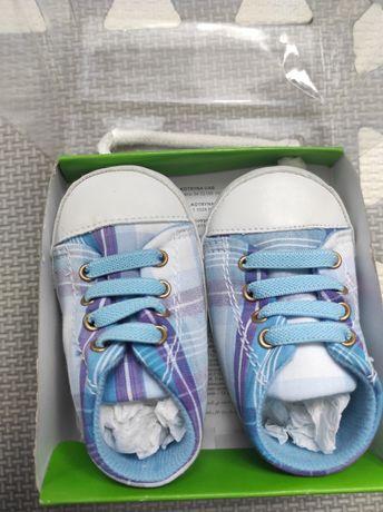 Butki trampki niechodki na wiosnę Coccodrillo wkładka 10,5cm