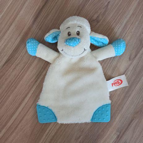 Комфортер сплюшка грызунок салфетка овечка игрушка для новорожденных