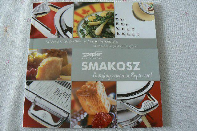 Smakosz, książka o gotowaniu, NOWA
