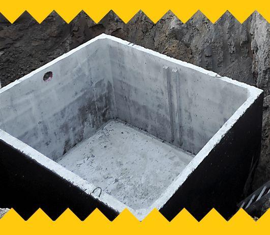 Zbiornik betonowy 10m3 na gnojowicę MOJA WODA szambo betonowe OLSZTYN