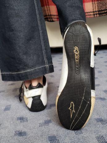 Мотоботы alpinestars F1 мото обувь мотокроссы кроссовки мотоботинки 41