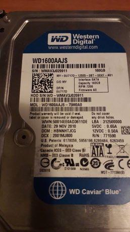 Жёсткий диск 80 GB, 120 GB, 160 GB