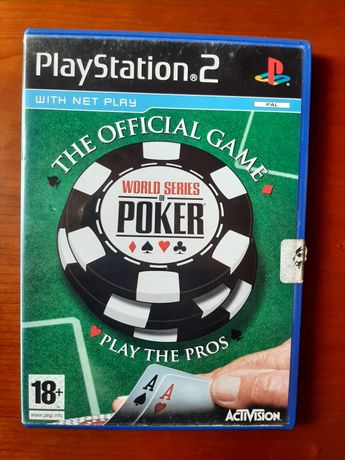The official Game World series of Poker playstation 2