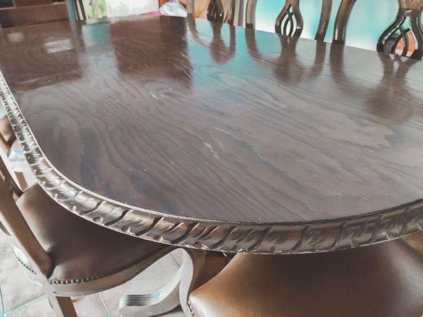 Mesa de Jantar + 7 cadeiras