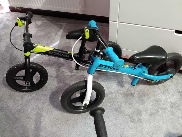 Rowerki biegowe BTWIN RUN RIDER 520 i hulajnogi
