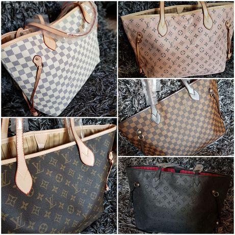 Piękna torebka neverfull gm Louis Vuitton wszystkie wzory z fot super