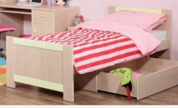 Łóżko młodzieżowe + szafka nocna