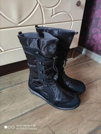 Superfit зимние сапоги сапожки кожаные gore-tex