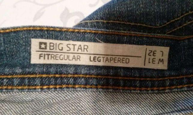 pas 83cm j NOWE Spodnie BIG STAR Carmen W31 L32 pas M L jeans za darmo