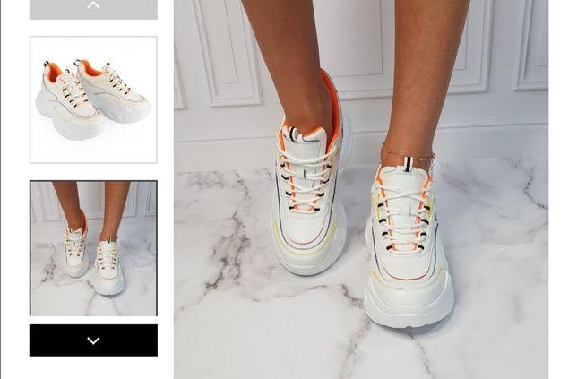 Buty sportowe snekersy sandały botki Nina basco