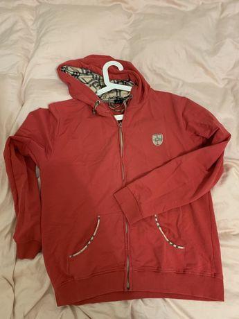 burberry london bluza czerwona kratka rozmiar M L damska męska