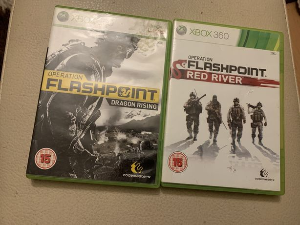 Gry xbox 360 Operation Flashpoint Red River , Dragon Rising