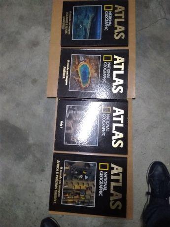 Coleção Atlas National Geographic (24 volumes)