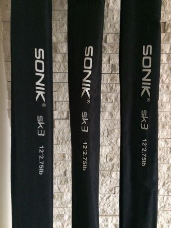 Wędki karpiowe Sonik SK3 12ft 2.75 lb