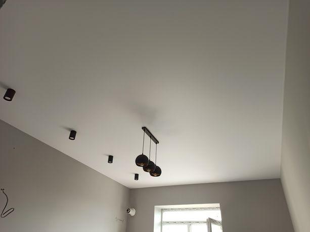 Матові натяжні стелі. Матовые натяжные потолки. Тканевые потолки
