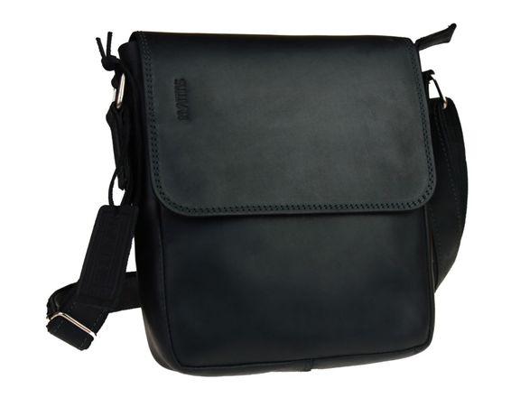 Кожаная мужская сумка натуральная кожа ручная работа sullivan