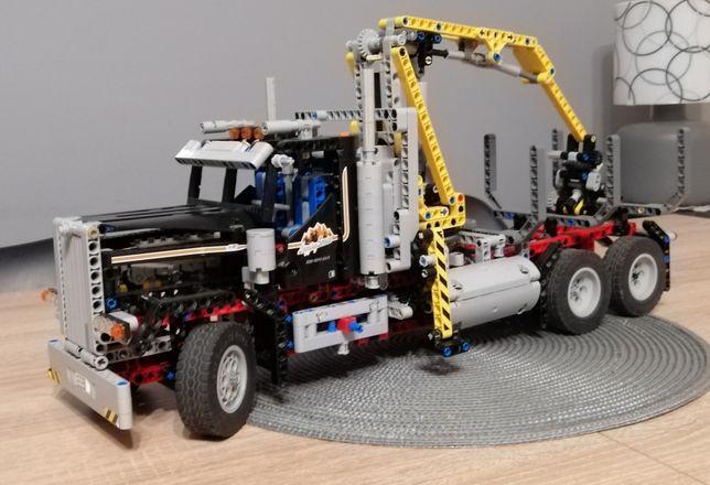 Lego Technic 9397 ciężarówka do przewozu drewna