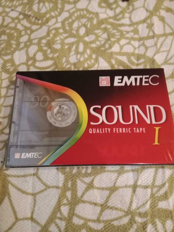 Kaseta emtec sound I 6 szt nowe