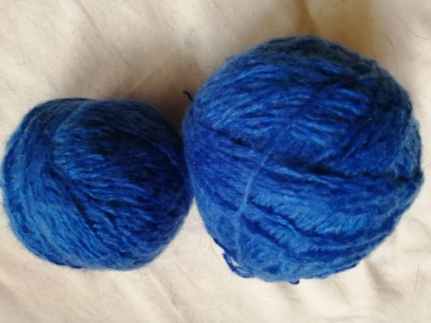 115 Gr ciemno niebieska wełna włóczka