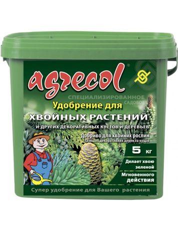 Удобрение для хвойных, туи, сосны, можевельников Агрикол Agrecol