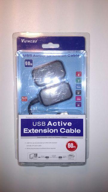 USB extender экстендер, удлиннитель Veiwcon VE399. USB подовжувач