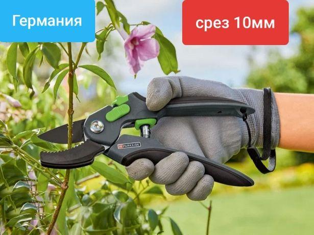 Секатор,садовые ножницы из ГЕРМАНИИ. Для кустов,цветов,веток. Срез 10