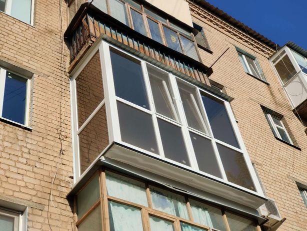 Балкон французский с выносом