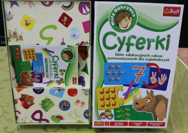 Gra edukacyjna Trefl Mały Odkrywca - Cyferki