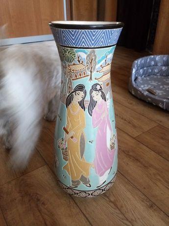 Wazon ceramiczny ceramika antyk orientalny japonia chiny