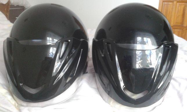 NOWE czarne 2 kaski